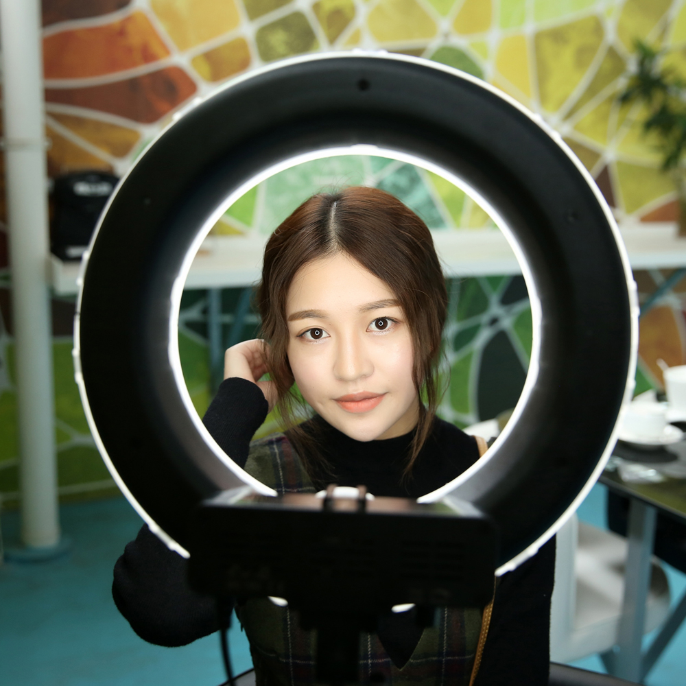36W-Digital-Photographic-Studio-font-b-Ring-b-font-font-b-Light-b-font-5500K-With